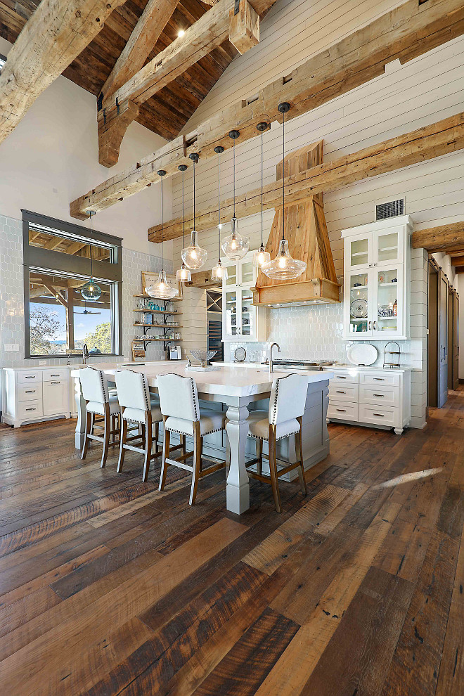 Reclaimed Plank Hardwood Flooring