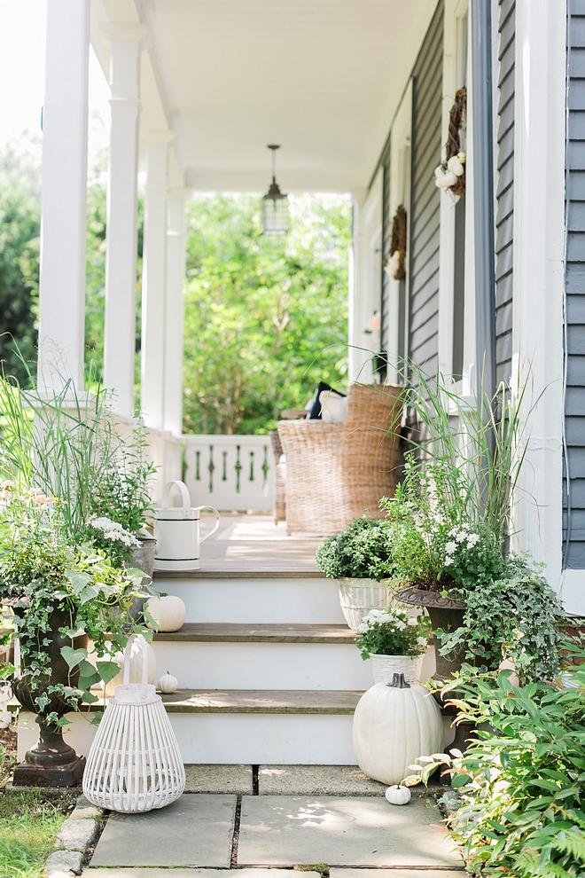 Porch Fall Porch Historic home front porch #porch #historichome