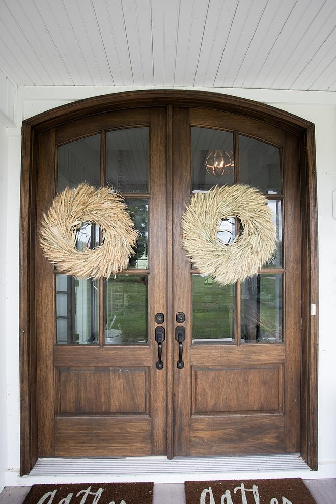 Double front door wreath ideas