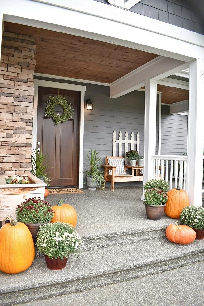 Porch Fall Decor