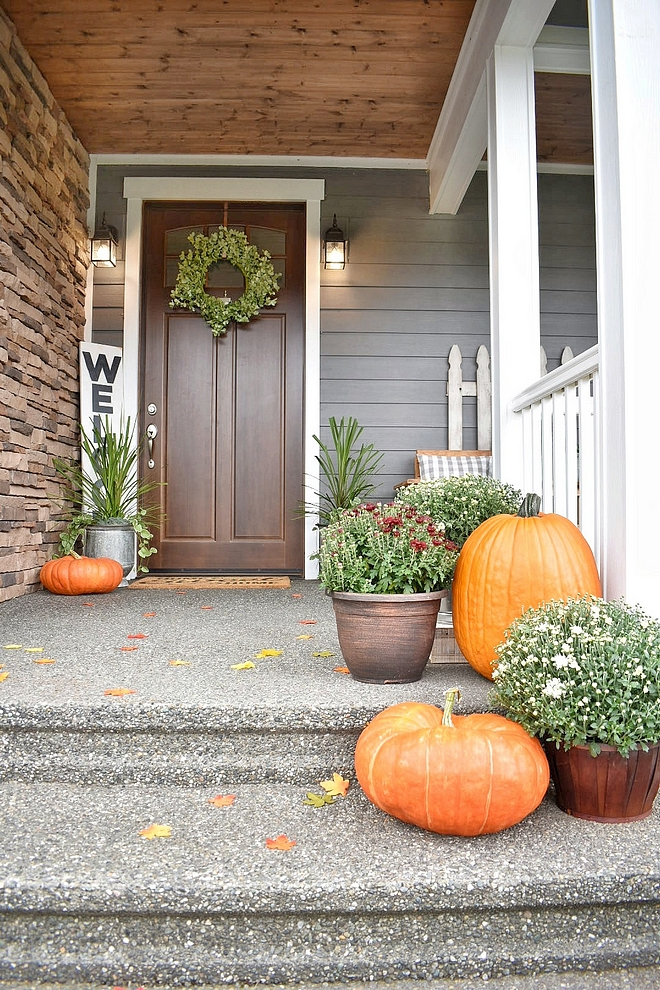 Front porch Fall Ideas