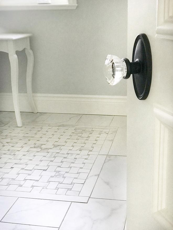 Glass Doorknobs are from Emtek, Assa Abloy