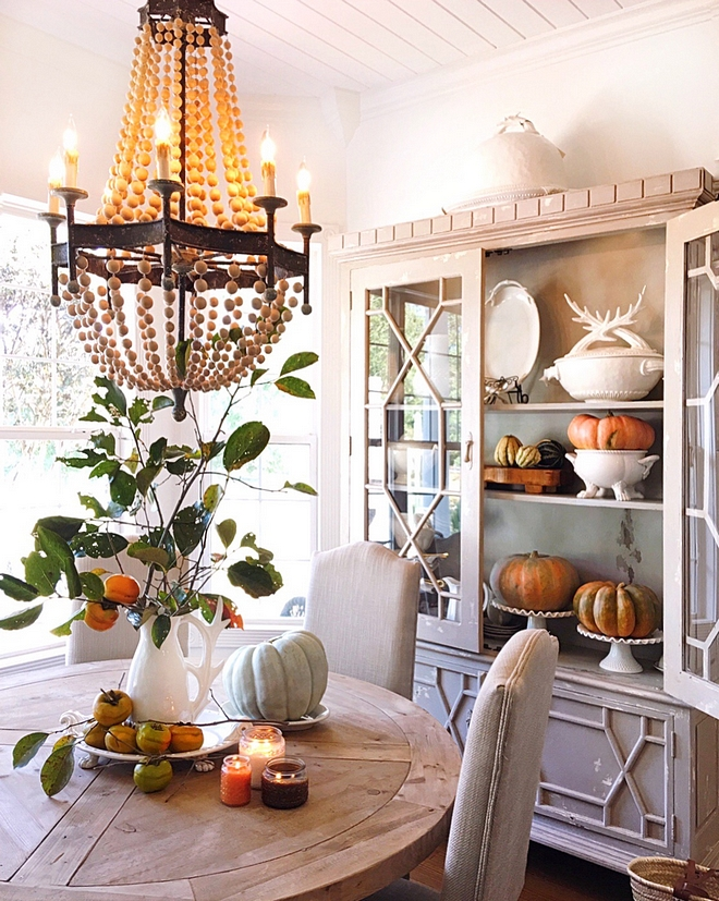 Dining Room Fall Decorating inspiration