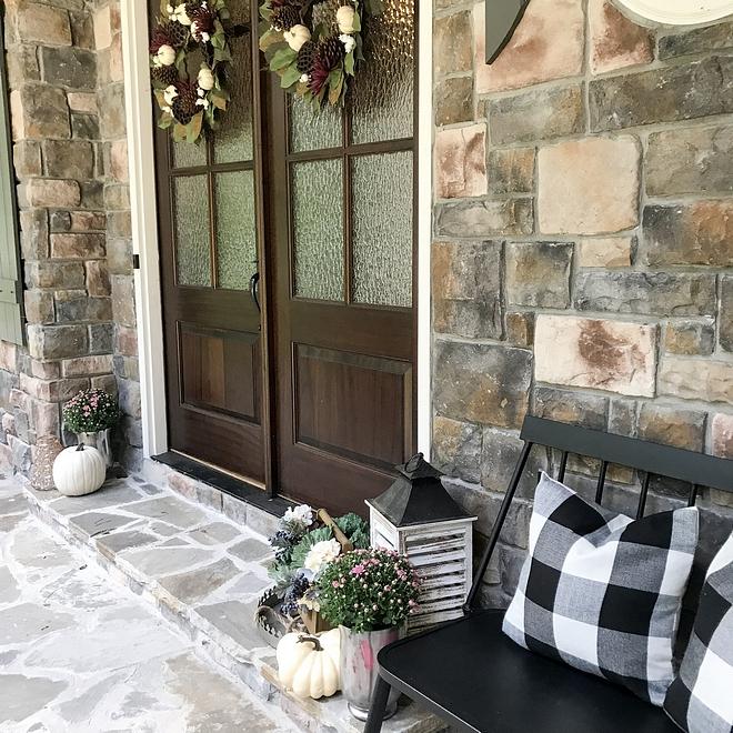 Porch Bench Pillows