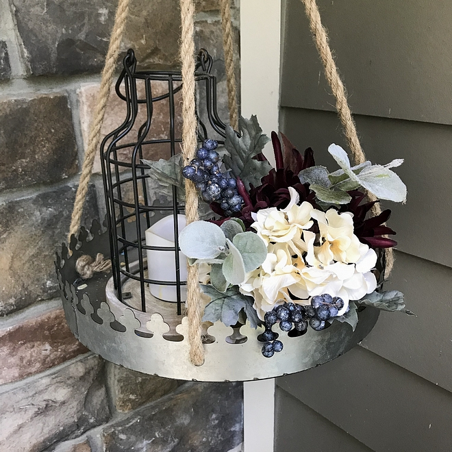 Fall Hanging Decor Porch with Fall Hanging Decor Fall Hanging Decor ideas #Fall #HangingDecor