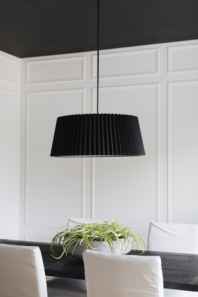 Black and white dining room Black and white dining room Dining room with floor to ceiling white paneling black ceiling and white and black decor #blackandwhite #blackandwhitediningroom #blackandwhite#diningroom #blackandwhiteinteriors