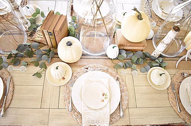 Neutral Fall Table Decor Eucalyptus White pumpkin Neutral Fall Table Decor Eucalyptus White pumpkin Neutral Fall Table Decor #Eucalyptus #Whitepumpkin #NeutralFallTableDecor #NeutrallTableDecor #FallTableDecor