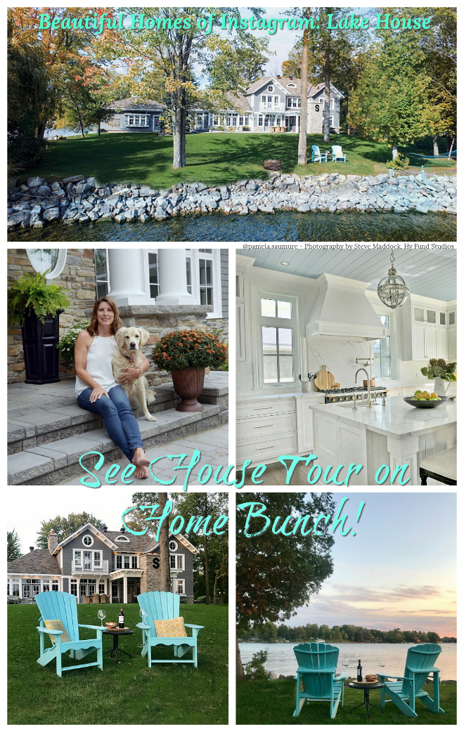 Beautiful Homes of Instagram Lake House see House Tour on Home Bunch