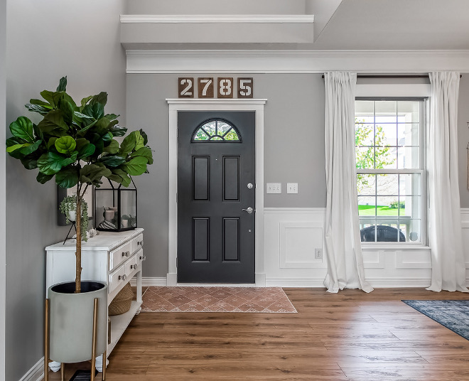 Front Door Interior Side Paint Color Door Color Benjamin Moore Cheating Heart Front Door Interior Side Paint Color Door Color Benjamin Moore Cheating Heart #FrontDoor #Interiordoor #PaintColor #DoorColor #BenjaminMooreCheatingHeart