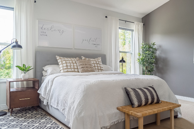 Light grey Bedrooms Light grey Bedroom ideas Light grey Bedroom see all sources on Home Bunch Light grey Bedrooms #LightgreyBedrooms