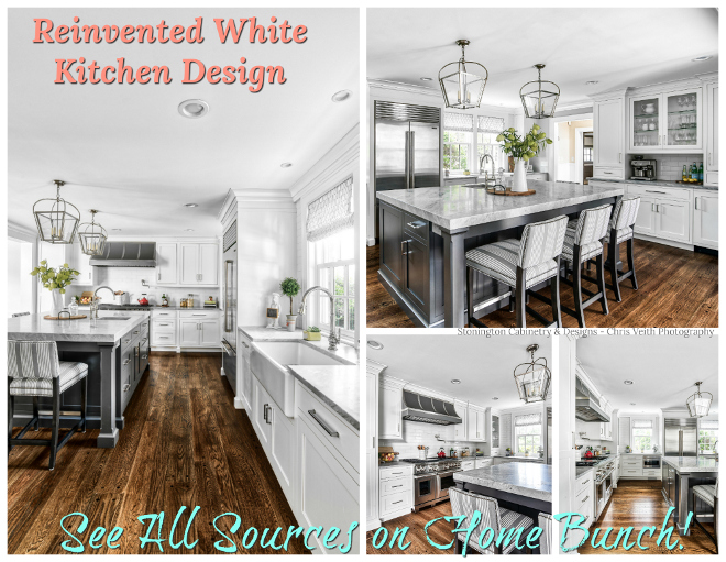 Reinvented White Kitchen Design