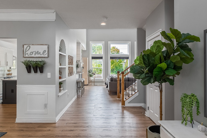 Sherwin Williams Light French Gray Paint Color Sherwin Williams Light French Gray #PaintColor #SherwinWilliamsLightFrenchGray