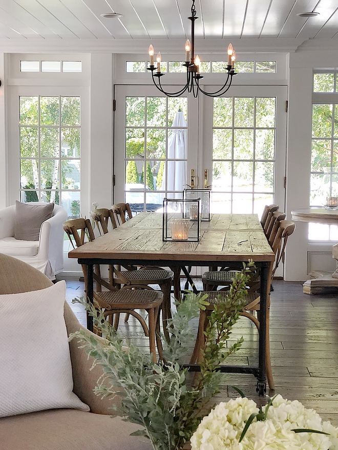Casual dining room The dining room opens to a beautiful dining area with plenty of natural light Casual dining room #Casualdiningroom #diningroom