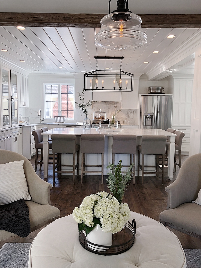 Kitchen island sits eight Kitchen island sits eight Kitchen island sits eight design ideas Kitchen island sits eight goals #Kitchenislandsitseight #Kitchenisland #kitchen