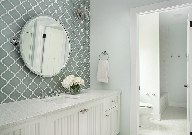 Jack And Jill Bathroom Paint Color It Can Be For Boys S Sherwin Williams Glimmer