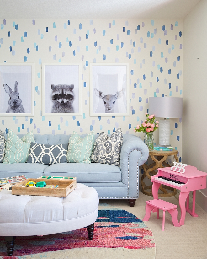 Playroom decor Playroom decor wall decalls Playroom Furniture all sources are specified on Home Bunch Playroom decor #Playroom #Playroomdecor