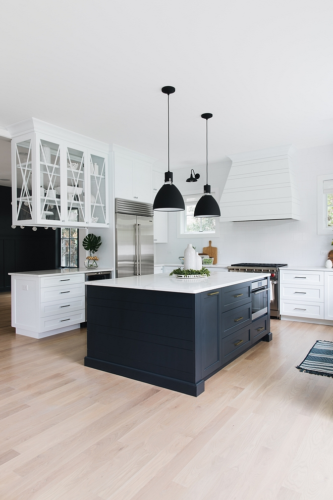 Dark kitchen island Stained kitchen island The kitchen island was custom-stained in an Ebony color Dark kitchen island Dark kitchen island #Darkkitchenisland 3kitchenisland
