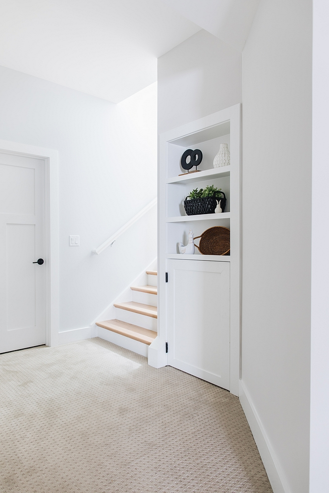 Basement paint color ideas Sherwin Williams Eider White SW 7014 Sherwin Williams Eider White SW 7014 Basement paint color Grey color for basements #SherwinWilliamsEiderWhiteSW7014