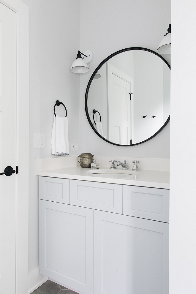 Sherwin Williams SW 7071 Gray Screen Vanity paint color Cabinet paint color Sherwin Williams SW 7071 Gray Screen Sherwin Williams SW 7071 Gray Screen #SherwinWilliamsSW7071GrayScreen #SherwinWilliams #SW7071 SherwinWilliamsGrayScreen