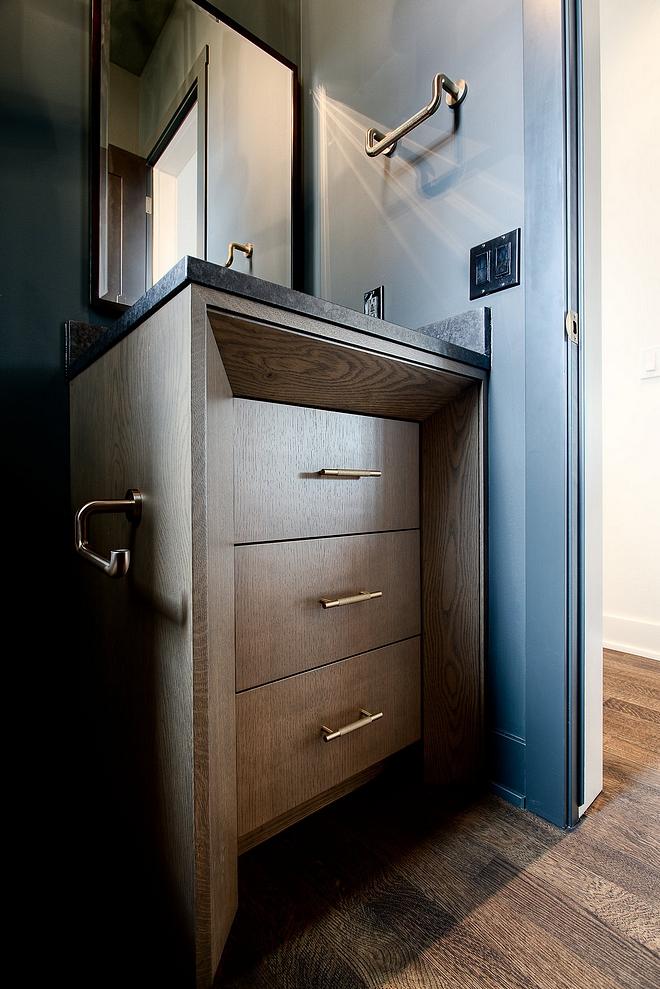 Custom Oak cabinet with black stain Custom Oak cabinet with black stain Custom Oak cabinet with black stain #Oakcabinet