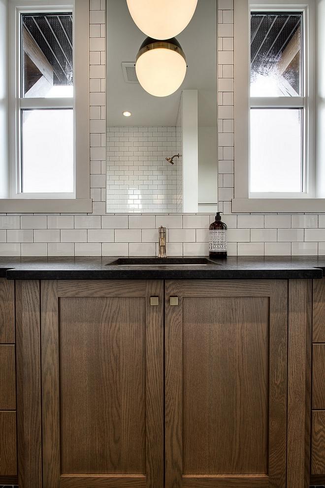 Bathroom Countertop Leathered Black Granite Bathroom Countertop Ideas Bathroom Countertop Leathered Black Granite #Bathroom #Countertop #LeatheredBlackGranite #BlackGranite