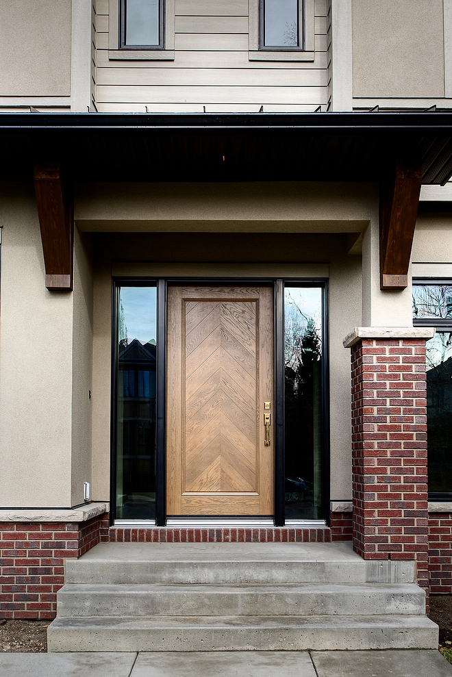 Chevron White Oak Front Door Custom chevron front door, stained to match the interior woodwork Front Door Design Chevron White Oak Front Door Chevron White Oak Front Door Chevron White Oak Front Door Chevron White Oak Front Door #ChevronWhiteOakFrontDoor #ChevronFrontDoor #WhiteOakFrontDoor #FrontDoor