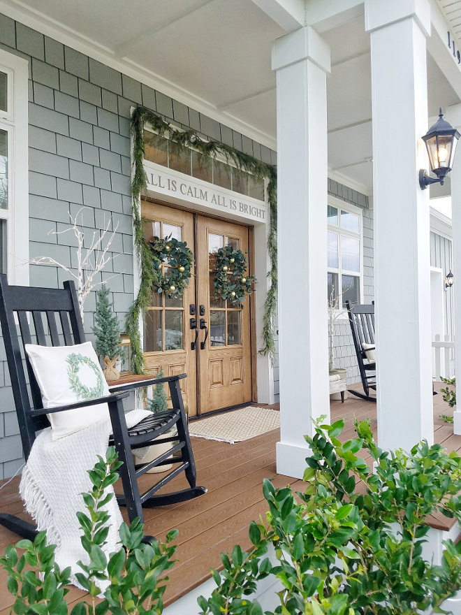 Behr Porch And Patio Paint Quart: How To Decorate Your Porch For Christmas