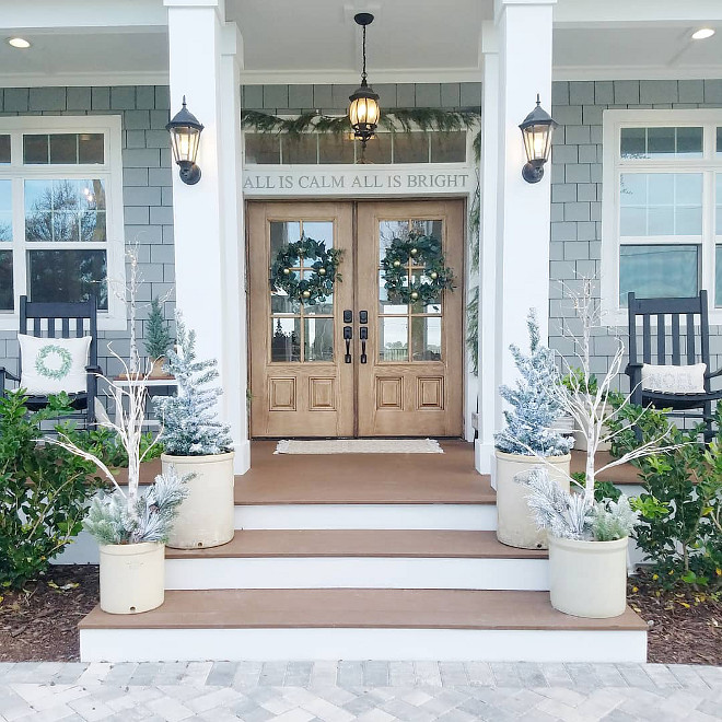 How To Decorate Your Porch For Christmas Home Bunch Interior