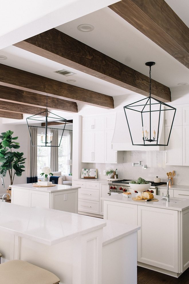 White kitchen cabinet painted in Benjamin Moore White Dove with Ceiling Beams White kitchen cabinet painted in Benjamin Moore White Dove with Ceiling Beams White kitchen cabinet painted in Benjamin Moore White Dove with Ceiling Beams White kitchen cabinet painted in Benjamin Moore White Dove with Ceiling Beams #Whitekitchen #whitekitchencabinet #cabinetpaintedinBenjaminMooreWhiteDove