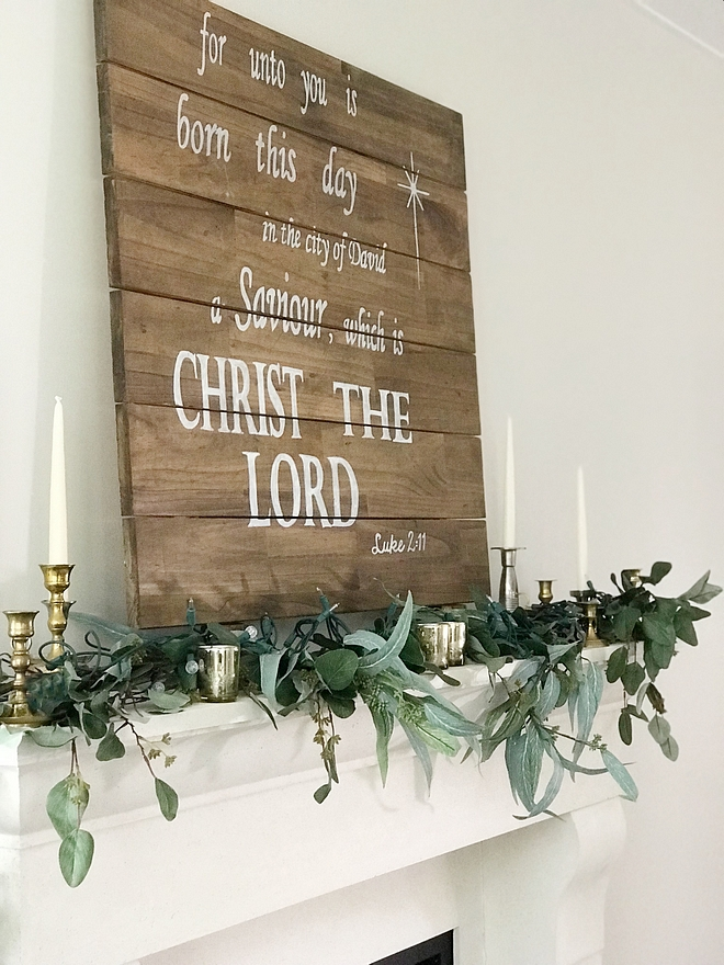 DIY Christmas Sign DIY Christmas Sign Ideas Shiplap style DIY Christmas Sign DIY Christmas Sign #DIYChristmasSign