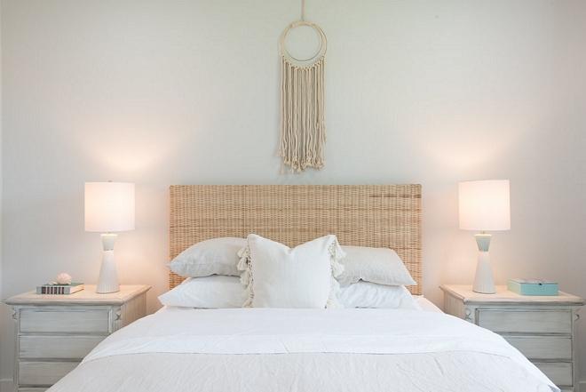 White bedroom white interiors