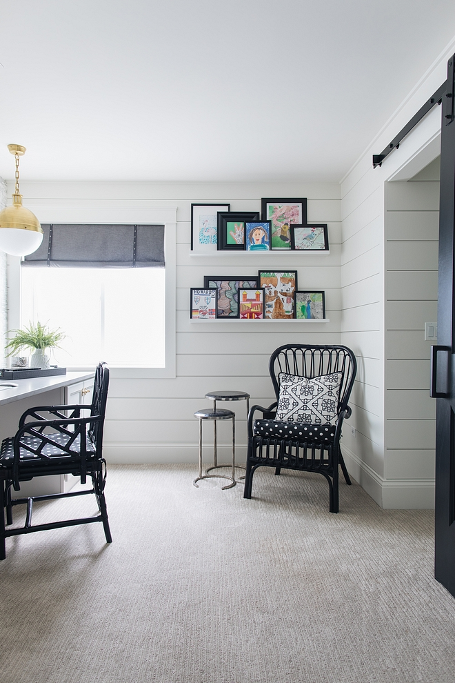 Simply White by Benjamin Moore Shiplap paint color Simply White by Benjamin Moore Simply White by Benjamin Moore Simply White by Benjamin Moore #SimplyWhiteBenjaminMoore