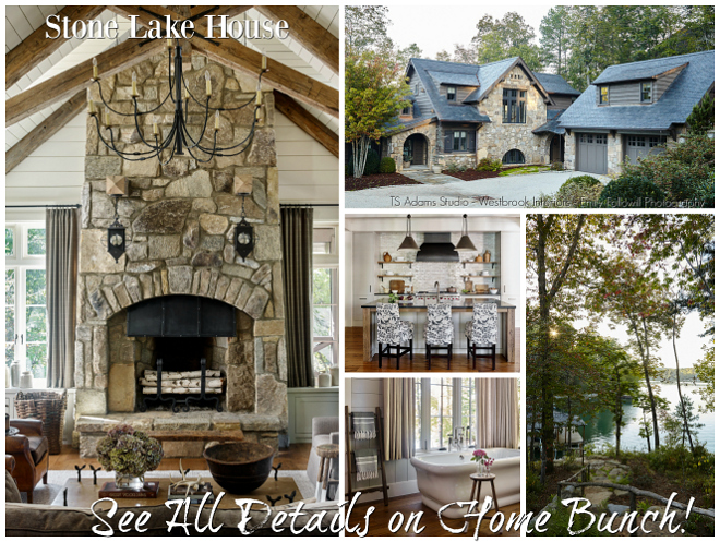 Stone Lake House Stone Lake House Interiors #StoneLakeHouse #LakeHouse #LakeHouseInteriors