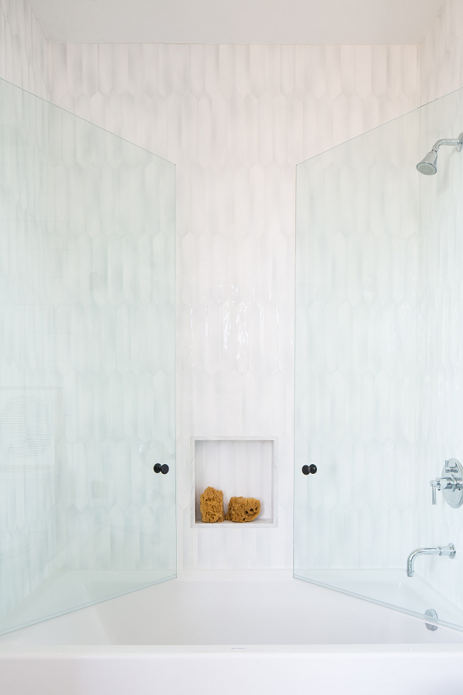 Shower tub with glass door Tub features glass doors enclosure The shower tub features glass doors #shower #tub
