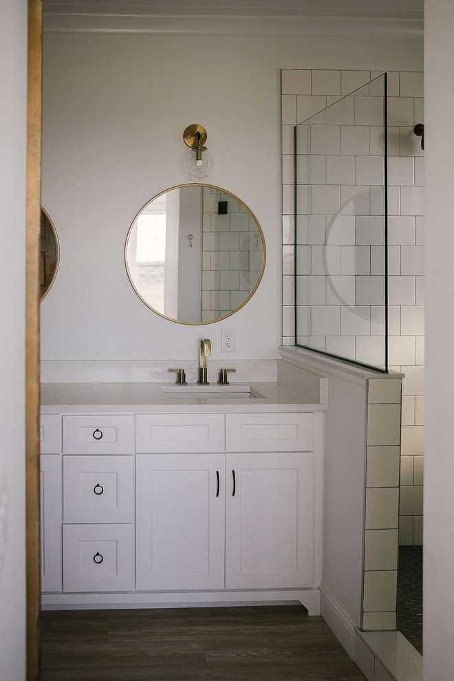 Bathroom Cabinetry Bathroom Cabinetry is White Shaker vanity, custom built Bathroom Cabinetry Bathroom Cabinetry #Bathroom #Cabinetry