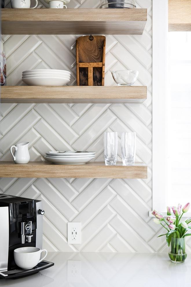 Beveled Tile Backsplash is 3x12 Beveled Tile Kitchen backsplash tile Beveled Tile #kitchenbacksplash #BeveledTile #3x12BeveledTile #3x12Tile