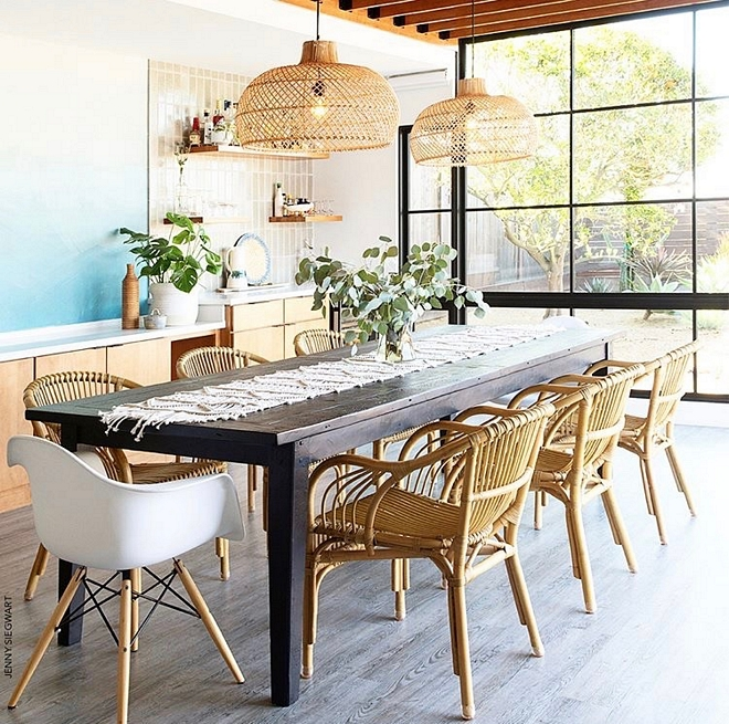 Boho dining room Boho chic dining room Boho dining room with black steel windows Boho dining room decor Boho dining room design Boho dining room ideas #Bohodiningroom #Bohochicdiningroom #Boho #Bohodesign #Bohodecor