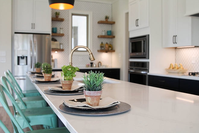 Kitchen Countertop Silestone Calcatta Gold Quartz with Waterfall island Kitchen Countertop Silestone Calcatta Gold Quartz with Waterfall island Kitchen Countertop Silestone Calcatta Gold Quartz with Waterfall island #KitchenCountertop #SilestoneCalcattaGold #Quartz #waterfallisland