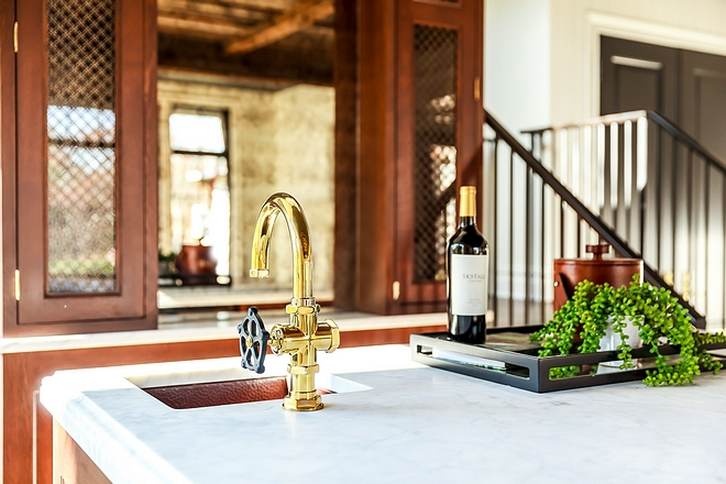 Bar Faucet Waterworks Regulator Gooseneck One Hole Bar Faucet Bar Faucet #Bar #Faucet #BarFaucet