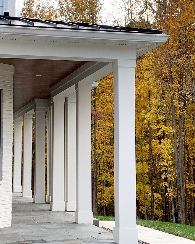 Square Porch Columns Porch Columns We knew we wanted lots of porches because we love to be outside Square Porch Columns #SquarePorchColumns #PorchColumns