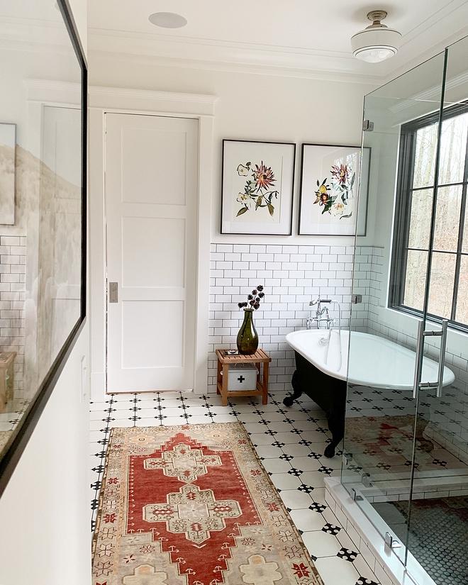 Tile Wainscoting Bathroom Tile Wainscoting Matte white subway tile wainscoting #TileWainscoting #Mattewhitesubwaytile #Mattewhitesubwaytilewainscoting