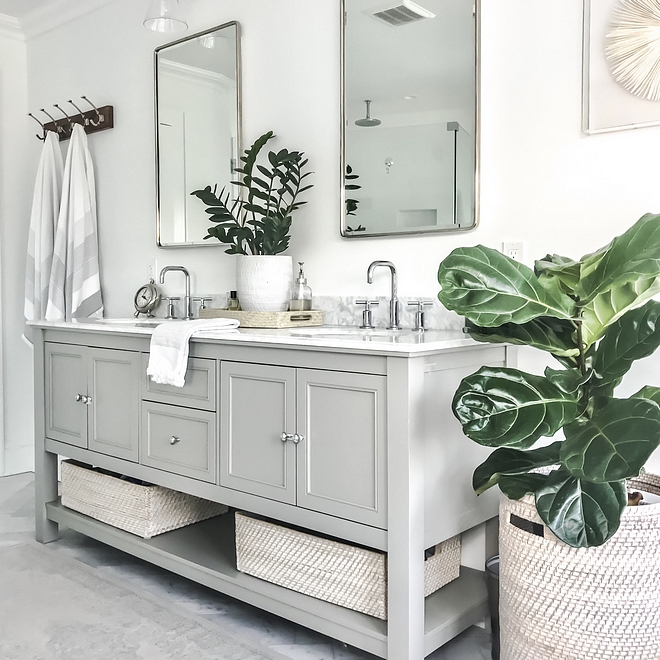 Ready-made bathroom vanity Ready-made bathroom vanity Shopping guide Ready-made bathroom vanity ideas Master bathroom featuring double sink bathroom vanity #Readymadebathroomvanity #Readymadevanity #bathroomvaniyu