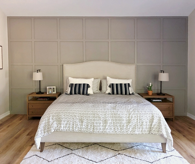 Grid Paneling Grid Board and Batten Bedroom Grid Paneling Grid Board and Batten Bedroom accent wall Grid Paneling Grid Board and Batten #GridPaneling #GridPanel #GridBoardandBatten