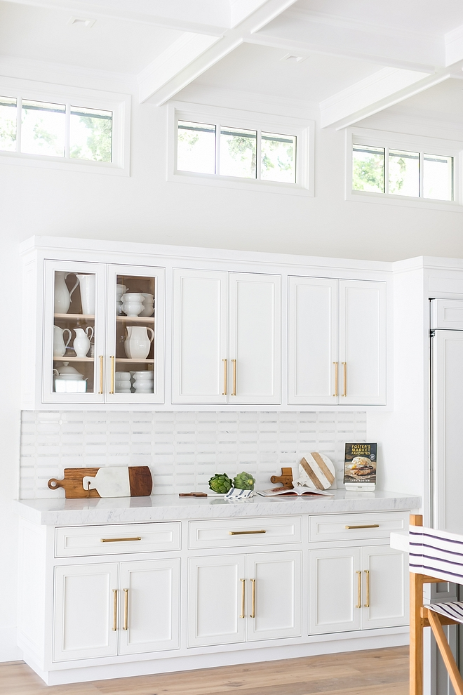 Kitchen Transom windows The kitchen features transom windows placed over the cabinetry This is a brilliant idea, especially if your home is located on a small lot and you have neighbors close by Kitchen Transom windows Kitchen Transom window Ideas #Kitchen #Transom #transomwindows