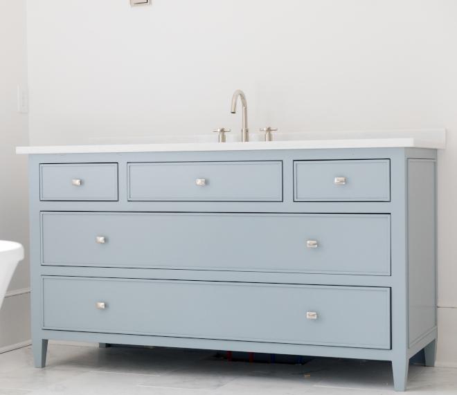 Benjamin Moore Nimbus Gray Blue gray cabinet paint color Benjamin Moore Nimbus Gray Benjamin Moore Nimbus Gray #BenjaminMooreNimbusGray