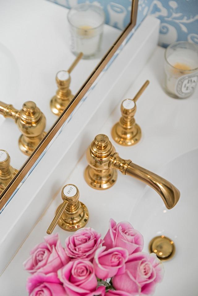 """Faucet is Restoration Hardware Lugarno Lever-Handle 8"""" Widespread Bathroom Faucet #WidespreadBathroomFaucet #BathroomFaucet #Bathroom #Faucet"""