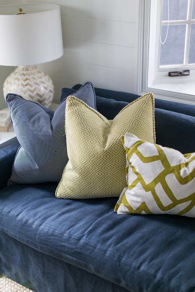 Pillows are Custom Fabrics Schumacher Zimba Other yellow pillow SCHUMACHER SOTTO WEAVE #pillows #schumacher #custompillows #fabric