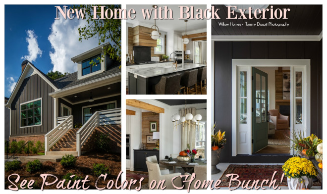 New Home with Black Exterior New Home with Black Exterior New Home with Black Exterior #NewHome #BlackExterior