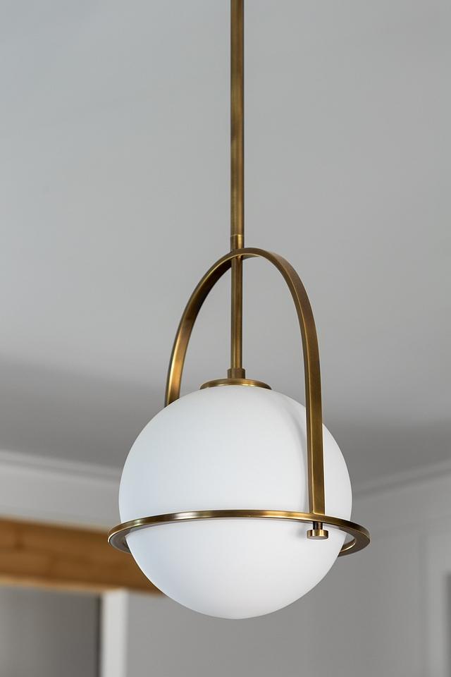 1 light globe and brass pendant light Kitchen 1 light globe and brass pendant light #1lightglobependant #globeandbrasspendant #globelight