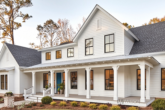 Modern Farmhouse With Front Porch